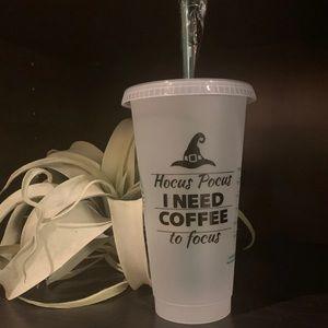 Starbucks cup hocus pocus Halloween venti